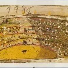 Carteles Feria: FERIA 1986 VALENCIA MIQUEL BARCELO ,ESTADO NUEVO . MEDIDAS ALTO 40 CM ALTO 90 CM. Lote 218210651