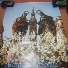 Carteles Feria: CORPUS EN SEVILLA.. AÑO 1.984..... Lote 218734245