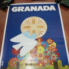 Carteles Feria: CARTEL GRANADA.... FIESTAS DEL CORPUS 1.979... Lote 218737783