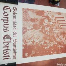 Carteles Feria: CORPUS CHRISTI.... SOLEMNIDAD DEL SANTÍSIMO.... 1.984... Lote 218738427
