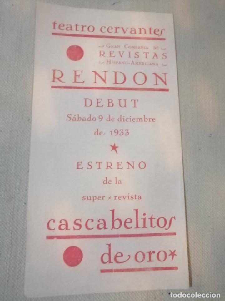 Carteles Feria: Cartel teatro Cervantes - Foto 3 - 219080875