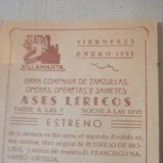 Carteles Feria: CARTEL TEATRO ANTIGUO. Lote 219081356