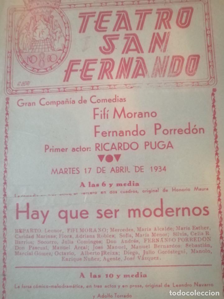 Carteles Feria: Cartel teatro san Fernando - Foto 2 - 219124183