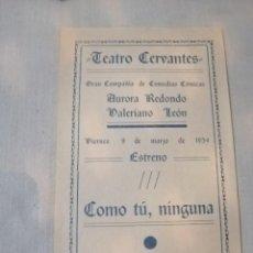 Carteles Feria: CARTEL TEATRO. Lote 219128452