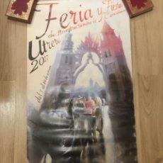 Carteles Feria: CARTEL - FERIA Y FIESTAS DE NUESTRA SEÑORA DE CONSOLACION - UTRERA 2017 - SEVILLA - 50X100CM. Lote 222646412