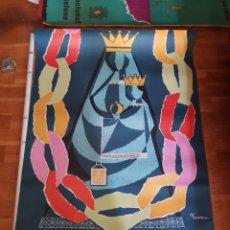 Carteles Feria: CARTEL FIESTAS DE LA MERCED BARCELONA PUBLICIDAD ANTIGUO 1958 POSTER PLÀ DOMENECH FESTES MERCÈ. Lote 226564360