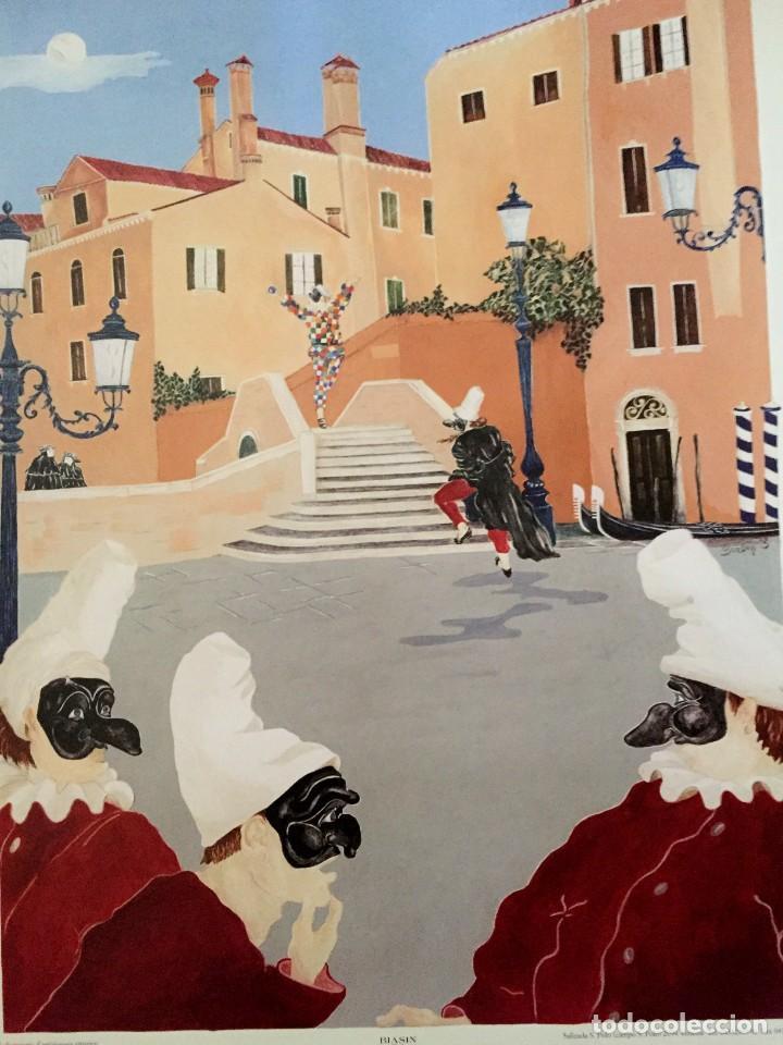 Carteles Feria: Lote de 2 carteles de Carnaval de Venecia de los años 2000_2002 en muy buen estado - Foto 2 - 230587020