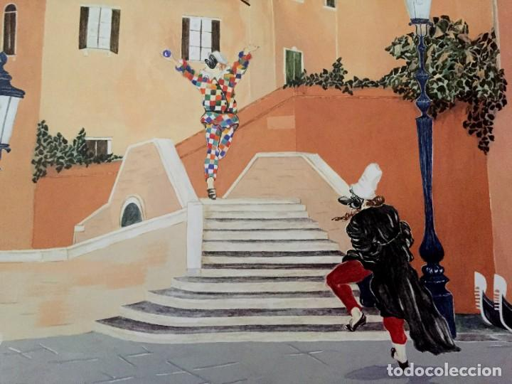 Carteles Feria: Lote de 2 carteles de Carnaval de Venecia de los años 2000_2002 en muy buen estado - Foto 3 - 230587020