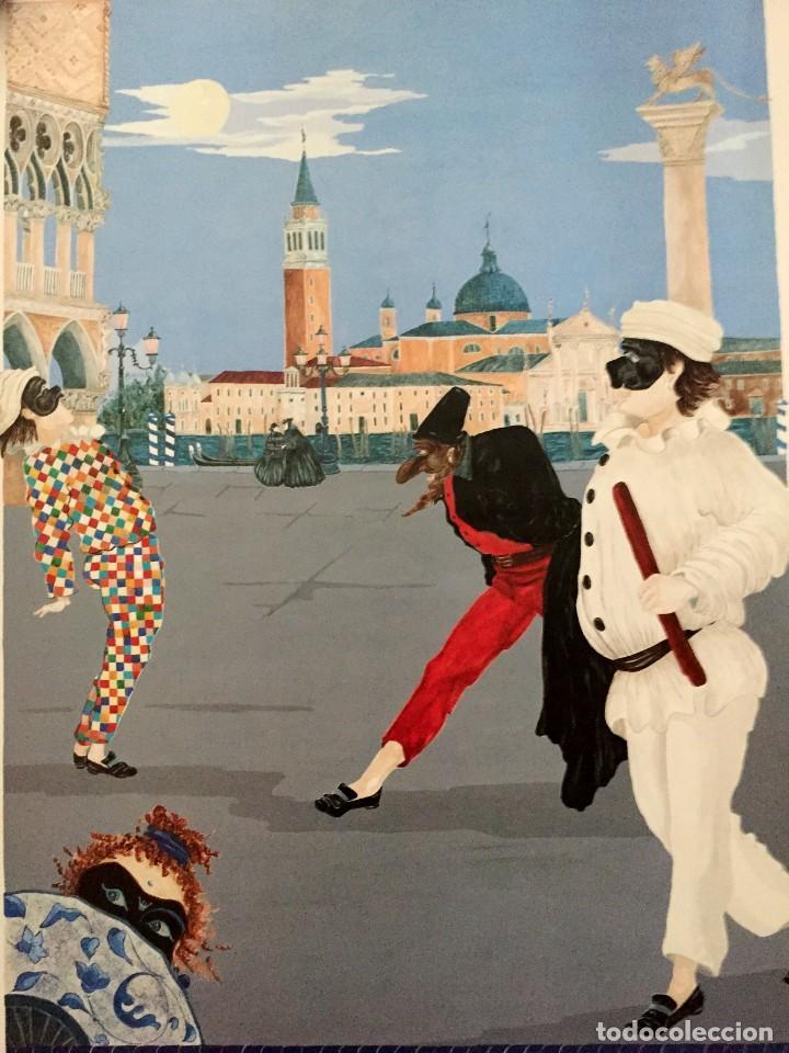 Carteles Feria: Lote de 2 carteles de Carnaval de Venecia de los años 2000_2002 en muy buen estado - Foto 9 - 230587020