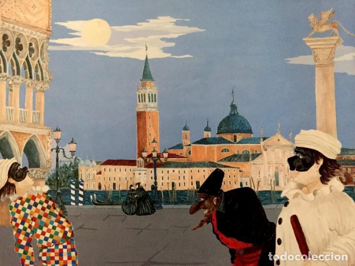 Carteles Feria: Lote de 2 carteles de Carnaval de Venecia de los años 2000_2002 en muy buen estado - Foto 10 - 230587020