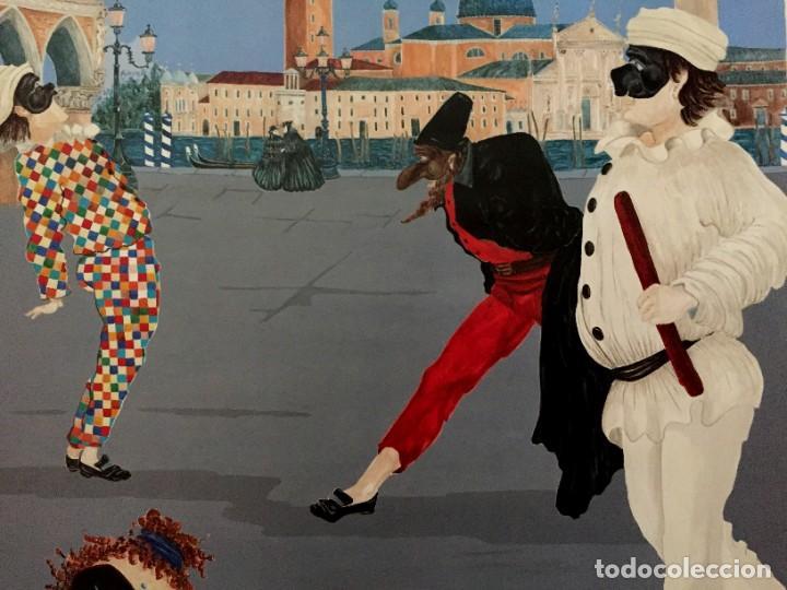 Carteles Feria: Lote de 2 carteles de Carnaval de Venecia de los años 2000_2002 en muy buen estado - Foto 11 - 230587020