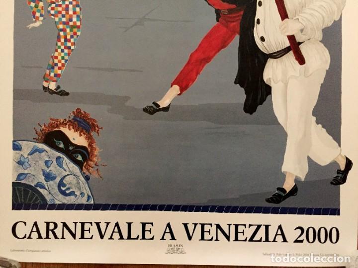 Carteles Feria: Lote de 2 carteles de Carnaval de Venecia de los años 2000_2002 en muy buen estado - Foto 12 - 230587020