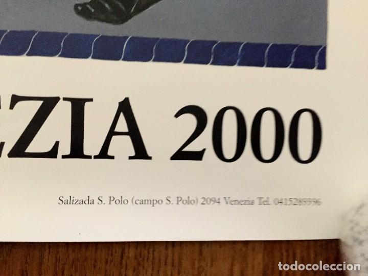 Carteles Feria: Lote de 2 carteles de Carnaval de Venecia de los años 2000_2002 en muy buen estado - Foto 15 - 230587020