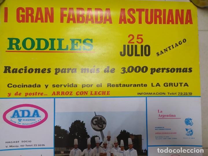 Carteles Feria: CARTEL AÑOS 70, FIESTAS RODILES, VILLAVICIOSA. - Foto 4 - 232226785