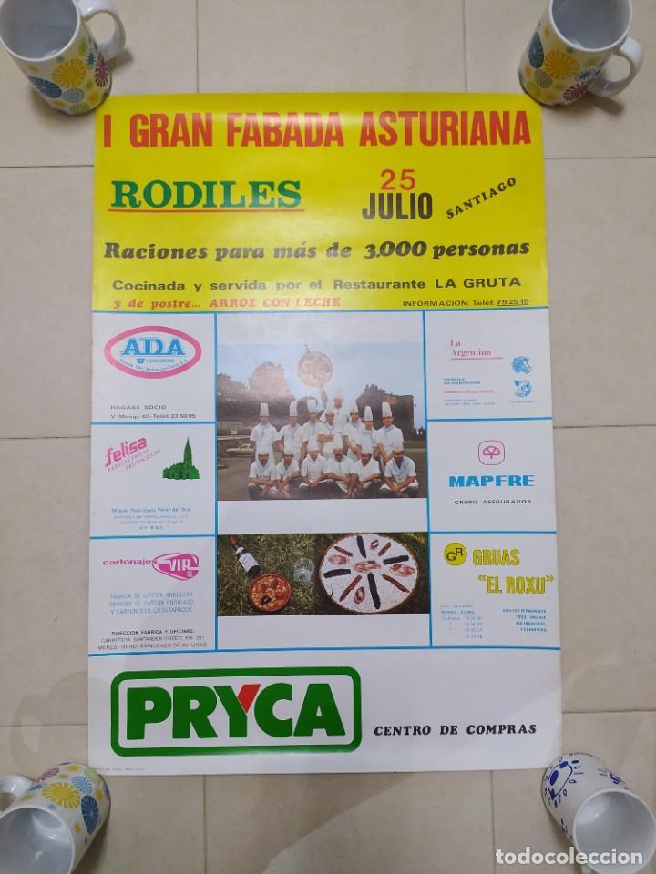 Carteles Feria: CARTEL AÑOS 70, FIESTAS RODILES, VILLAVICIOSA. - Foto 9 - 232226785