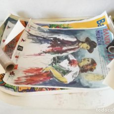 Carteles Feria: LOTE DE 17 CARTELES DE GRAN FORMATO, RELACIONADOS CON LA REGIÓN DE MURCIA, UNOS 100 X 70 CMS.. Lote 234919580