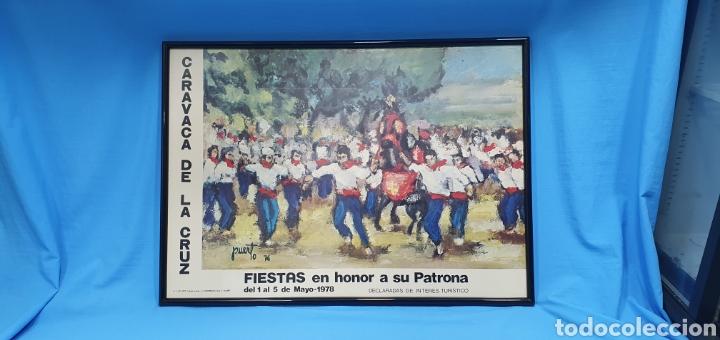 CARTE DE PUERTO 76 - FIESTAS CARAVACA DE LA CRUZ - MAYO 1978 - GUTENBERG ALICANTE (Coleccionismo - Carteles Gran Formato - Carteles Ferias, Fiestas y Festejos)
