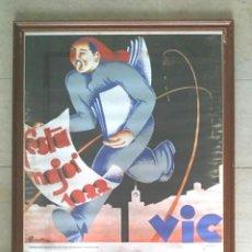 Carteles Feria: VICH CARTEL FIESTA MAYOR SAN MIGUEL DE LOS SANTOS AÑO 1979. MED. 100 X 70 CM. Lote 238449615