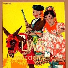 Cartazes Feira: GRANDES FIESTAS EN MALAGA 1946 - CARTELES - IMÁGENES - PUBLICIDAD - FERIAS - TURISMO. Lote 239486375