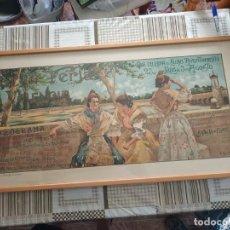 Carteles Feria: PRECIOSO CARTEL FERIAS Y FIESTAS, JULIO 1908 , VALENCIA, ORIGINAL, LITOGRAFIA. Lote 239606060