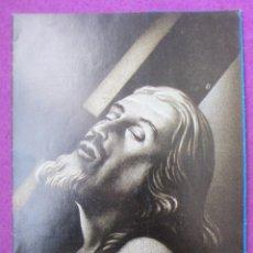 Affiches Foire: LIBRO LIBRITO PROGRAMA OFICIAL SEMANA SANTA REQUENA 1963 LV36. Lote 240947700