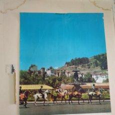 Carteles Feria: CARTEL FERIA DE MALAGA 1968. Lote 242116075