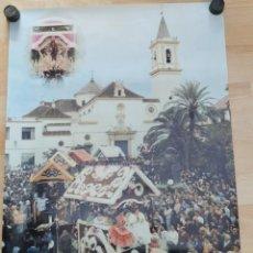 Carteles Feria: DOS HERMANAS, 1998, CARTEL ROMERIA DE VALME, 48X68 CMS. Lote 251046700