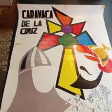 Carteles Feria: ANTIGUO CARTEL DE FIESTAS EN HONOR DE LA SANTÍSIMA VERA CRUZ 1985 CARAVACA DE LA CRUZ. Lote 251067750
