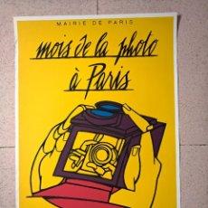 Carteles Feria: VALERIO ADAMI. MOIS DE LA PHOTO À PARIS. LITOGRÁFICO. Lote 251703225