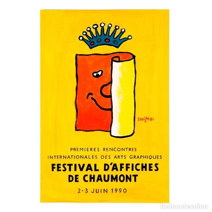 Carteles Feria: Festival daffiches de Chaumont. Savignac - Foto 2 - 252557215