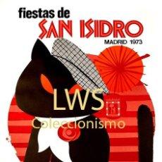 Cartazes Feira: FIESTAS DE SAN ISIDRO MADRID 1973 - CARTELES - IMÁGENES - PUBLICIDAD - FERIAS - TURISMO. Lote 291199708