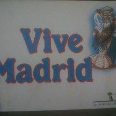 Carteles Feria: CARTEL VIVE MADRID 1986. Lote 254714805