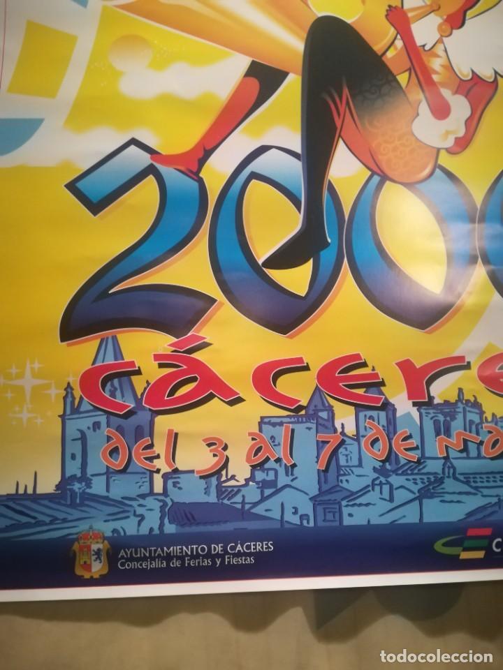 Carteles Feria: CARTEL CARNAVALES CÁCERES AÑO 2000 - Foto 2 - 258227220