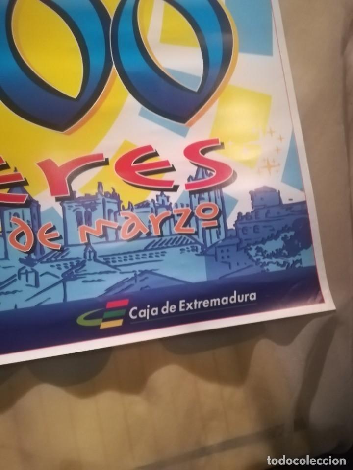 Carteles Feria: CARTEL CARNAVALES CÁCERES AÑO 2000 - Foto 3 - 258227220