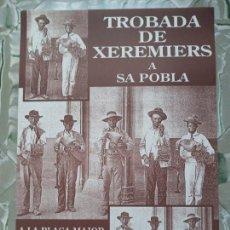 Carteles Feria: TROBADA DE XEREMIERS A SA POBLA - 1995. Lote 260062360
