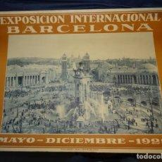 Carteles Feria: (M) CARTEL EXPOSICIÓN INTERNACIONAL BARCELONA 1929 PUEBLO ESPAÑOL, RIUSSET SA BARCELONA, 54X70CM. Lote 262250150