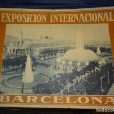 Carteles Feria: (M) CARTEL EXPOSICIÓN INTERNACIONAL BARCELONA 1929 PUEBLO ESPAÑOL, RIUSSET SA BARCELONA, 54X70CM. Lote 262250325