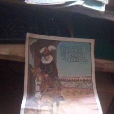 Carteles Feria: CARTEL PLAZA DE TOROS DE SEVILLA DOMINGO DE RESURRECCION Y FERIA DE ABRIL DE 1979-. Lote 262619485