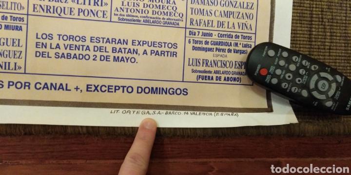 Carteles Feria: Cartel toros - Foto 2 - 262867770