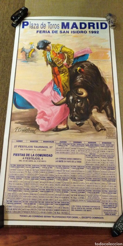 CARTEL TOROS (Coleccionismo - Carteles Gran Formato - Carteles Ferias, Fiestas y Festejos)