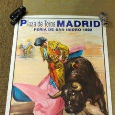 Carteles Feria: CARTEL TOROS. Lote 262867770