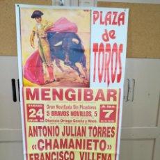 Carteles Feria: CARTEL PLAZA DE TOROS MENGIBAR1999.. Lote 263715765