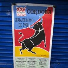 Affiches Foire: CARTEL PLAZA DE TOROS CÓRDOBA 1990.M 44X97CM. Lote 263726585