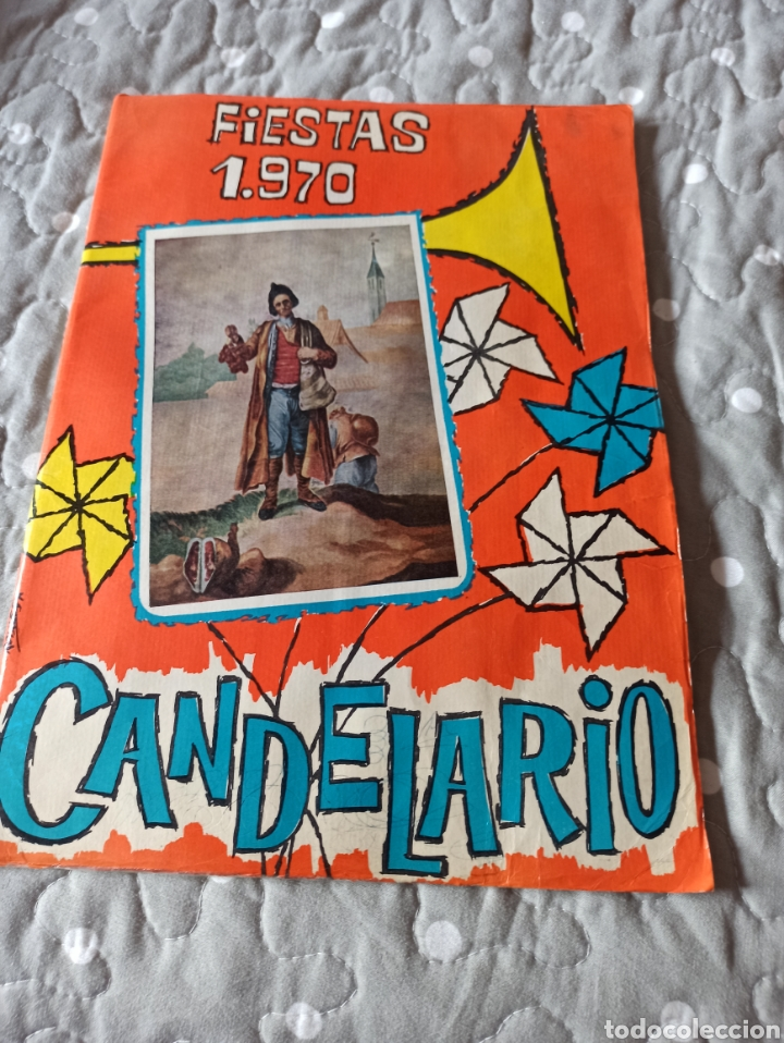 PROGRAMA FIESTAS CANDELARIO 1970 (Coleccionismo - Carteles Gran Formato - Carteles Ferias, Fiestas y Festejos)