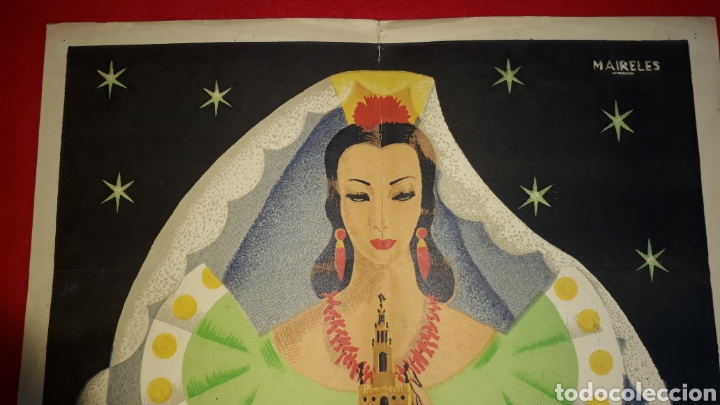 Carteles Feria: Feria de Sevilla abril 1955 - Foto 2 - 287993333
