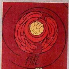 Coleccionismo deportivo: CARTEL FUTBOL MUNDIAL 82 1982 ESPAÑA VALENCIA SEDE ,ORIGINAL , RB. Lote 21595242