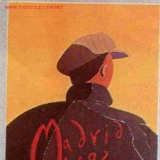 Coleccionismo deportivo: CARTEL FUTBOL MUNDIAL 82 1982 ESPAÑA MADRID SEDE , ORIGINAL , RB. Lote 80817536