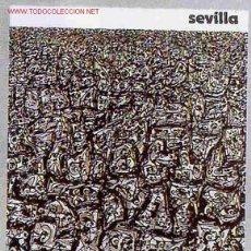 Coleccionismo deportivo: CARTEL FUTBOL MUNDIAL 82 1982 ESPAÑA SEVILLA SEDE ,ORIGINAL , RB. Lote 140714858