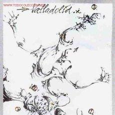 Coleccionismo deportivo: CARTEL FUTBOL MUNDIAL 82 1982 ESPAÑA VALLADOLID SEDE , ORIGINAL , RB. Lote 221339162