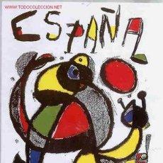 Coleccionismo deportivo: CARTEL FUTBOL MUNDIAL 82 1982 ESPAÑA MIRO , ORIGINAL , RB. Lote 203010000